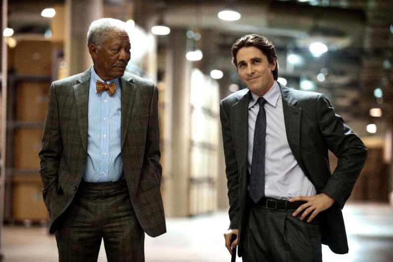 Morgan Freeman e Christian Bale  estão no elenco