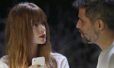 Luz termina seu relacionamento com Gabriel, hoje em O Sétimo Guardião