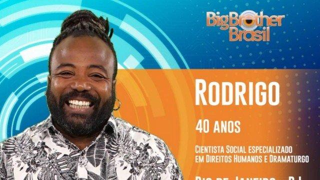 Rodrigo é carioca, ator, produtor cultural e naturista Foto: Rede Globo/Divulgação