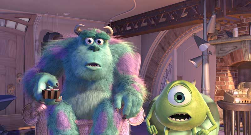 Sulley e Mike