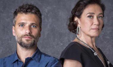 Valentina convence Gabriel a sair com ela, deixando o casarão livre para Sampaio