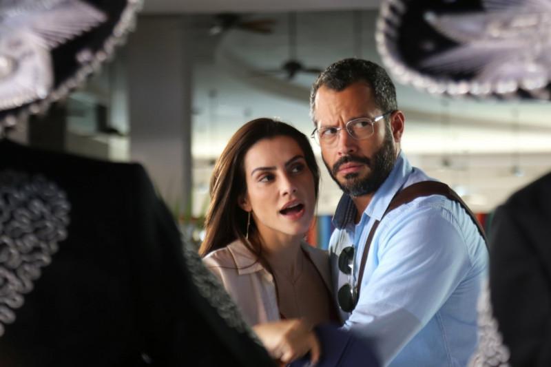 """Cleo Pires e Malvino Salvador em """"Qualquer Gato Vira-Lata 2"""""""
