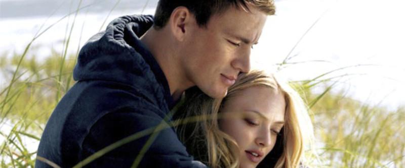 "Channing Tatum e Amanda Seyfried em ""Querido John"""