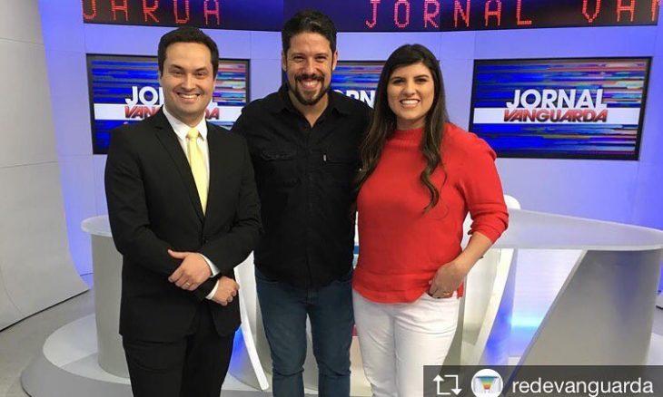 Michelle Sampaio na TV Vanguarda