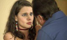 """Olavo (Tony Ramos) ameaça Lourdes Maria em """"O Sétimo Guardião"""""""