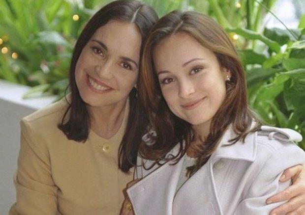 """Regina Duarte e Gabriela Duarte em """"Por Amor"""""""