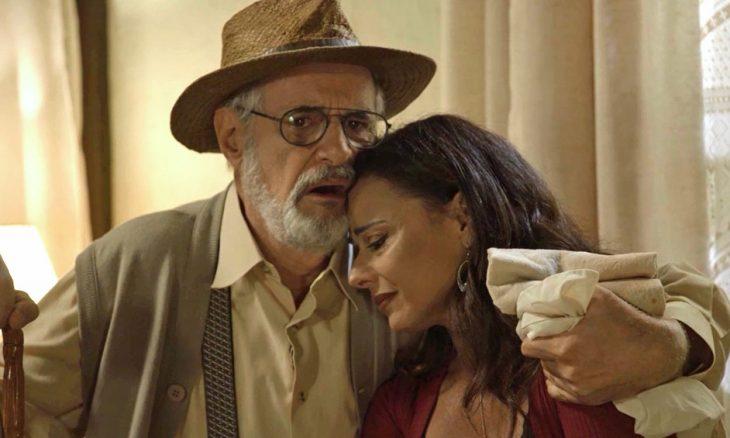 Sóstenes (Marcos Caruso) e Neide (Viviane Araújo)
