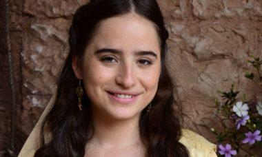 """Deborah (Manuela Llerena) em """"Novela Jesus"""""""