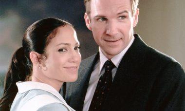 "Jennifer Lopez e Ralph Fiennes em ""Encontros do Amor"""