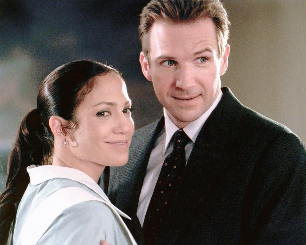 """Jennifer Lopez e Ralph Fiennes em """"Encontro de Amor"""""""