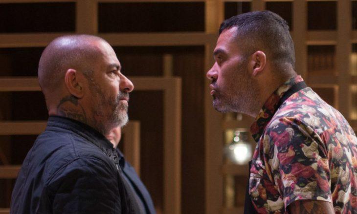 Henrique Fogaça e Marcus no Masterchef / Foto: Divulgação