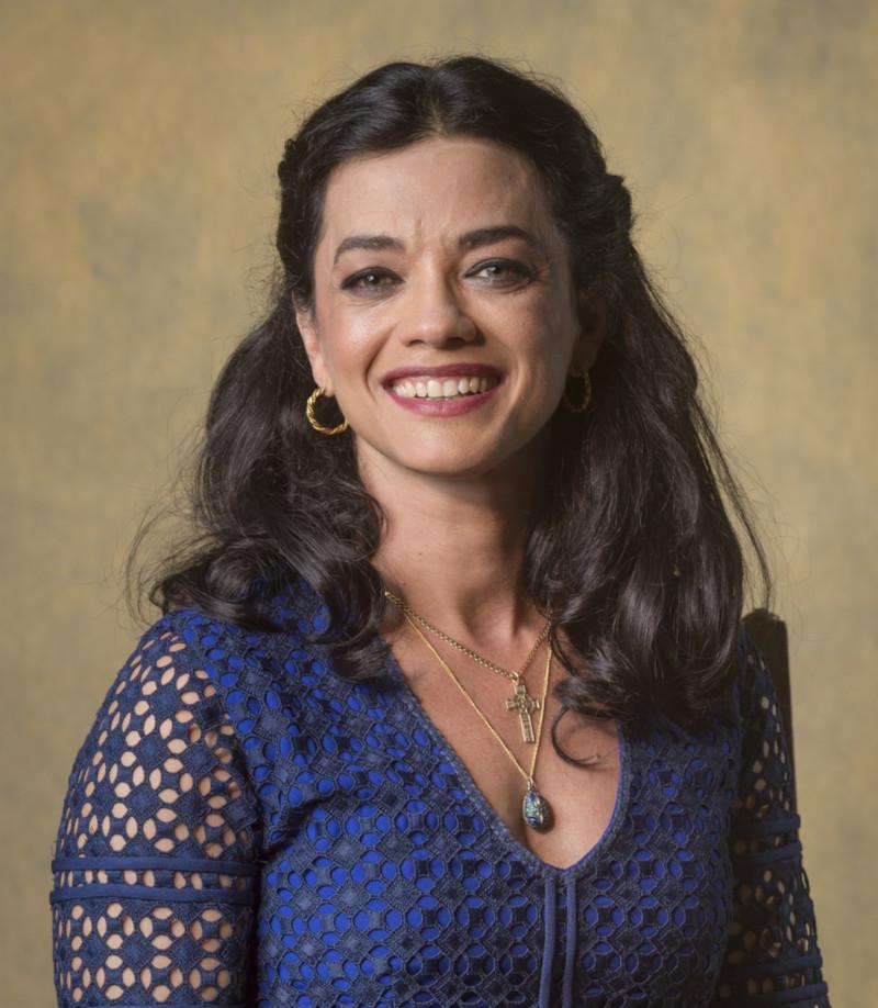 """Ana Cecília Costa como Missade em """"Órfãos da Terra"""""""