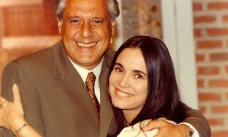 """Antônio Fagundes como Atílio e Regina Duarte como Helena em """"Por Amor"""""""