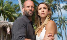 """Jason Statham e Jessica Alba em """"Assassino à Preço Fixo 2: A Ressurreição"""""""