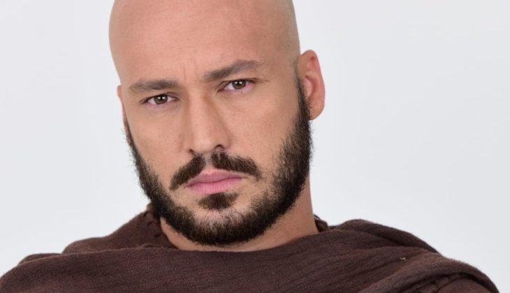 """Rodrigo Andrade como Zelote em """"Novela Jesus"""""""