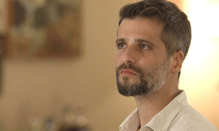 """Gabriel (Bruno Gagliasso) em """"O Sétimo Guardião"""""""