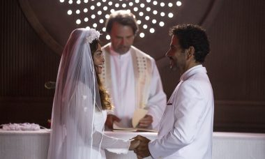 """Maria da Paz (Juliana Paes) e Amadeu (Marcos Palmeira) em """"A Dona do Pedaço"""" / Isabella Pinheiro/Gshow"""