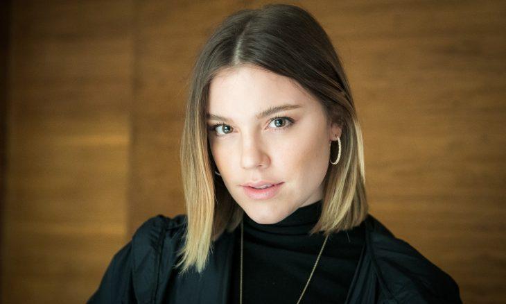 "Dalila (Alice Wegmann) em ""Órfãos da Terra"" / Foto: TV Globo"