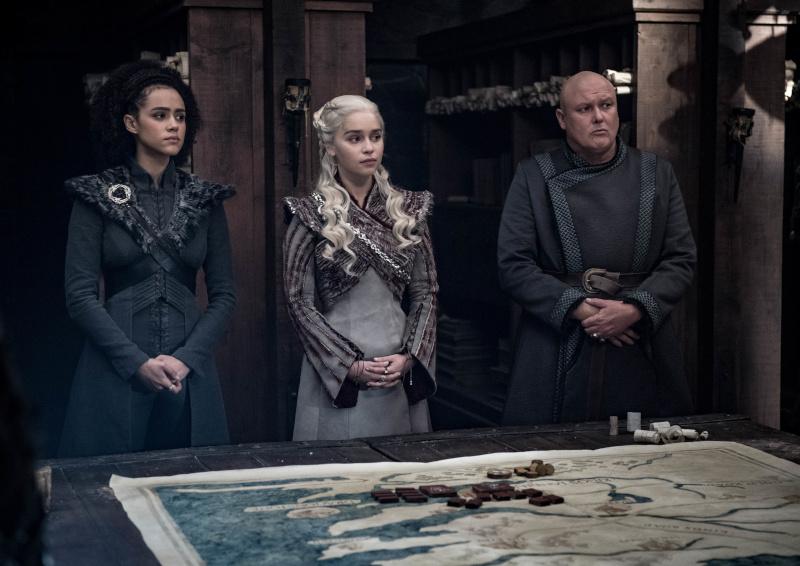 """Cena do quarto episódio da oitava temporada de """"Game of Thrones"""" / Foto: Divulgação HBO"""