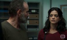 """Elias (Marco Rica) e Missade (Ana Cecília Costa) em """"Órfãos da Terra"""""""