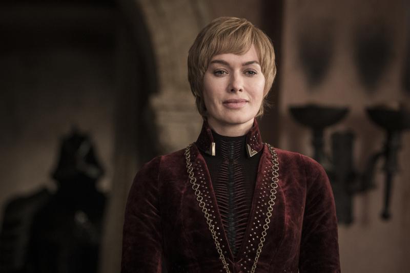 Cersei também está na expectativa da batalha / Foto: Divulgação HBO