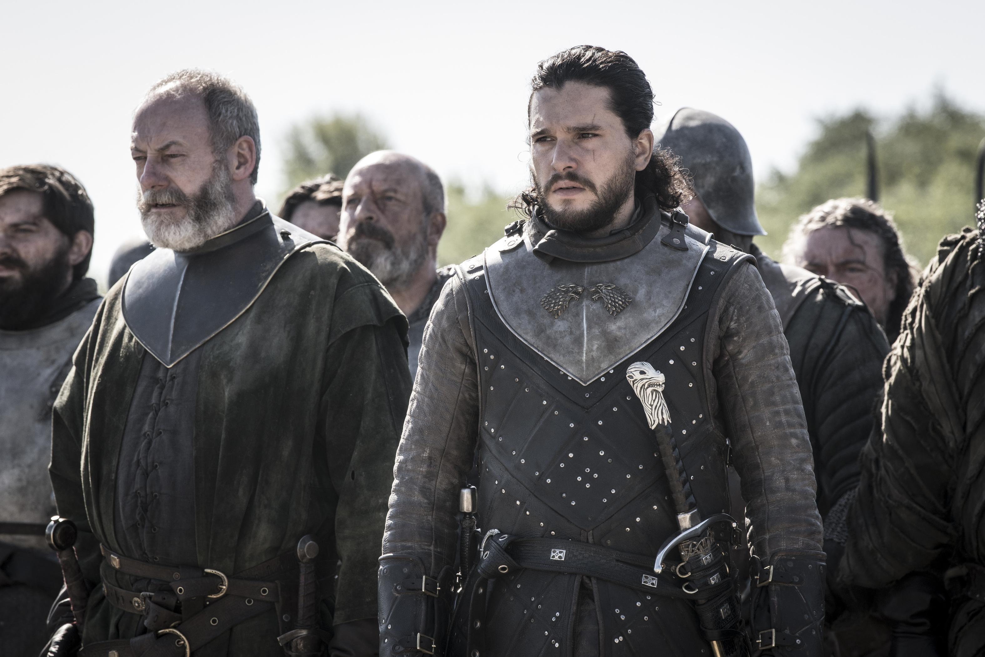 Davos e Jon Snow / Foto: Divulgação HBO