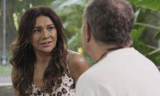 """Janaina (Dira Paes) e Herculano (Humberto Martins) em """"Verão 90"""" / Foto: TV Globo"""