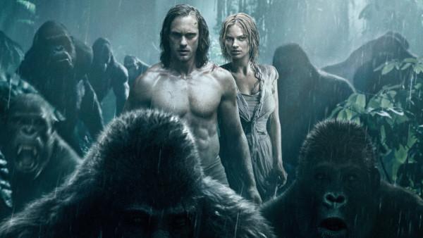 """Alexander Skarsgard e Margot Robbie no filme """"A Lenda de Tarzan"""" / Foto: Divulgação"""