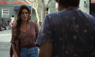 """Maria da Paz (Juliana Paes) e Marlene (Suely Franco) em """"A Dona do Pedaço"""" / Foto: TV Globo"""