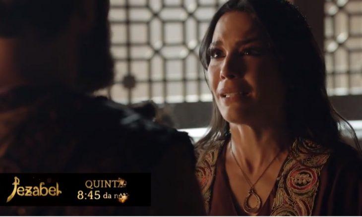 "Queila (Juliana Knust) em ""Jezabel"" / Foto: TV Record"