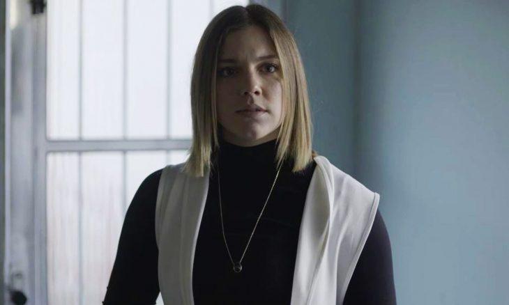 "Basma/Dalila (Alice Wegmann) em ""Órfãos da Terra"" / Foto: TV Globo"
