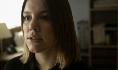Dalila (Alice Wegmann) em Órfãos da Terra / Foto: TV Globo