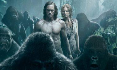 """Alexander Skarsgard e Margot Robbie no filme """"Tarzan"""" / Foto: Divulgação"""