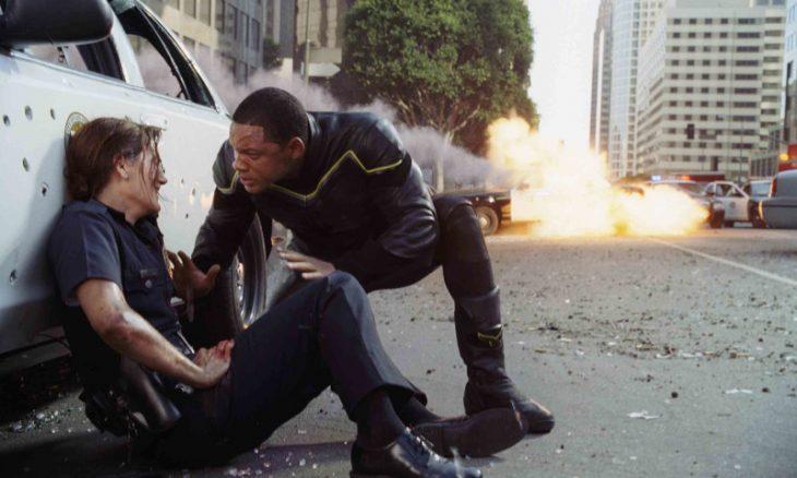 """Will Smith em """"Hancock"""" / Foto: Reprodução"""