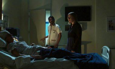 """Helena (Carol Castro), Dalila (Alice Wegmann e Faruq (Eduardo Mossri) em """"Órfãos da Terra"""" / Foto: TV Globo"""
