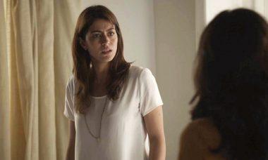 """Helena (Carol Castro) em """"Órfãos da Terra"""" / Foto: TV Globo"""