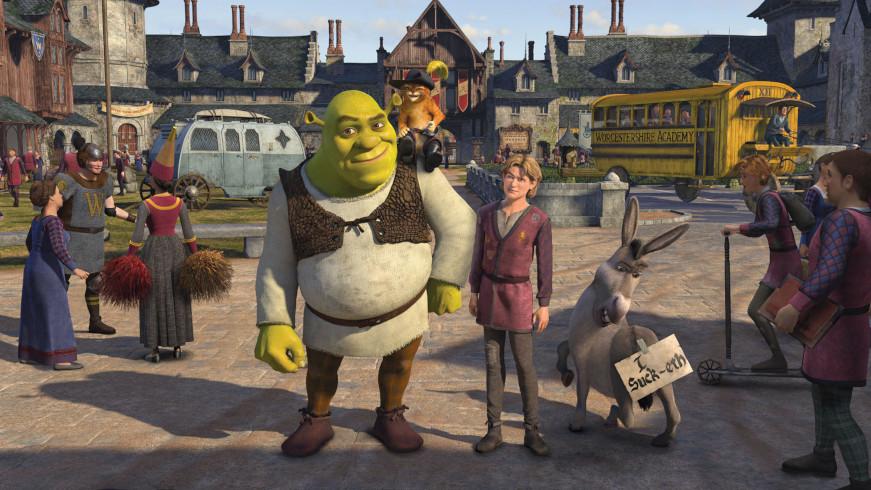 """Filme """"Shrek Terceiro"""" / Foto: Reprodução"""