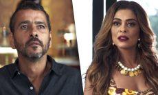 Amadeu (Marcos Palmeira) e Maria da Paz (Juliana Paes) se reencontram / Foto: TV Globo