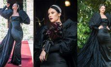 Paolla Oliveira comentou sobre vestido de Vivi
