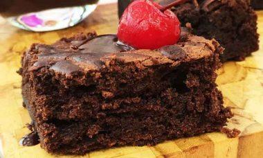 Mais você: Receita de Brownie de Chocolate Furadinho
