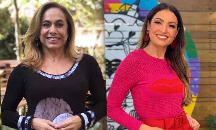 """Patrícia Poeta recusa presente de Cissa e causa clim""""ao em """"É de Casa"""""""