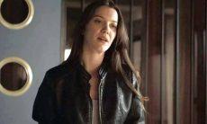 """Fabiana é fria quando Vivi lhe conta sobre o parentesco com Maria da Paz. Quarta (30) em """"A Dona do Pedaço"""""""