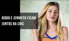 """Diogo e Jennifer ficam juntos na Chic. Hoje (10) em """"Bom Sucesso"""""""