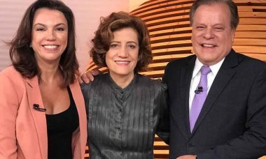 Clima entre Chico Pinheiro e Ana Paula Araújo é tenso