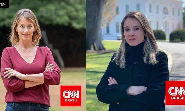 Ex-Globo e ex-Record são as novas contratadas na CNN Brasil. Foto: Instagram