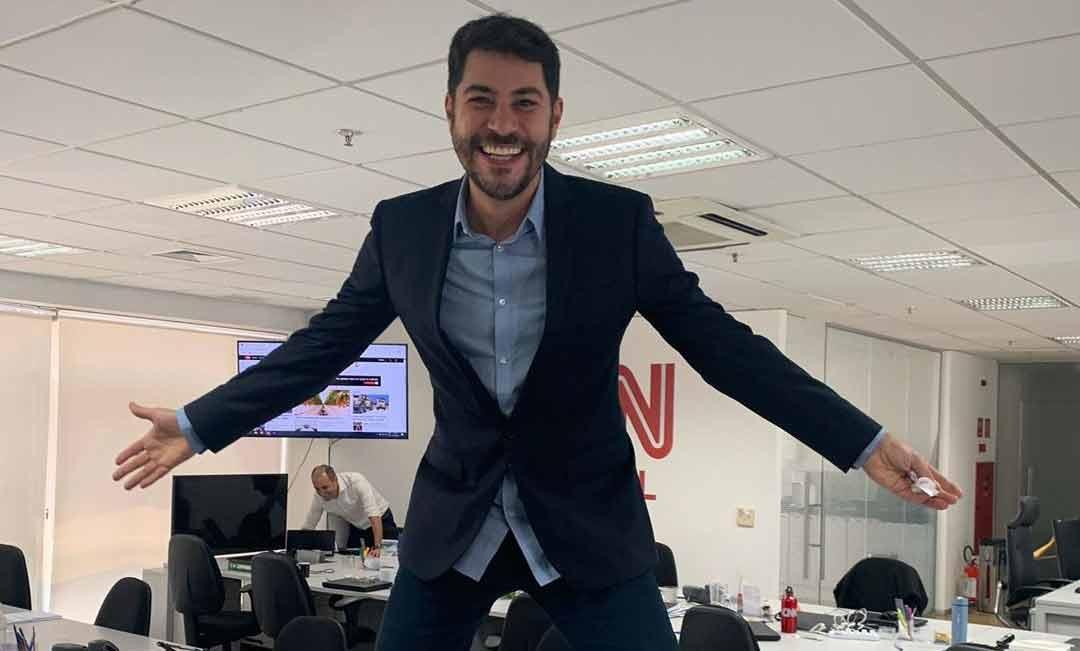 Evaristo Costa anuncia estréia da CNN Brasil em março de 2020