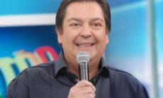 """Faustão se irrita e xinga funcionário de """"imbecil"""" durante programa"""