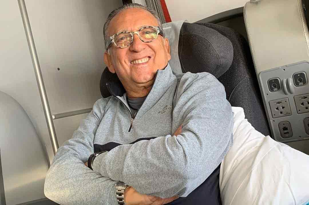 Galvão Bueno passa mal e é internado em hospital no Peru
