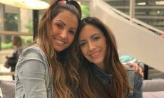 Patrícia Poeta surge ao lado da irmã em clique raro