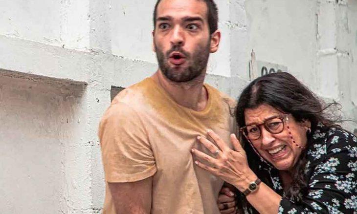 Sandro é atingido ao proteger Lurdes. Hoje (5) em Amor de Mãe
